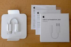 Apple USB-C /Thunderbolt 3 3,5mm Kopfhörer Adapter
