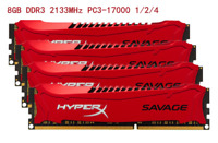 8GB 16GB 32GB DDR3 2133MHz For Kingston HyperX Savage Desktop Memory DIMM DL