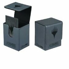 ULTRA PRO MTG Magnetic Flip Deck Box GREY PLANESWALKER MATTE Magic the Gathering