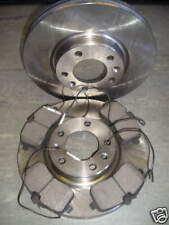 PEUGEOT 407 FRONT BRAKE DISCS AND PADS 1.6,1.8, 2.0 - NEXT DAY DELIVERY