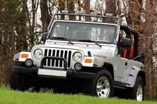 97-06 TJ WRANGLER FRONT BUMPER COVER (LIKE TOMB RAIDER JEEP)FREE SHIPPING TOO :)