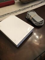 Nintendo Wii White Replacement Console W/Power Cord RVL-001 Tested Working!!!!!