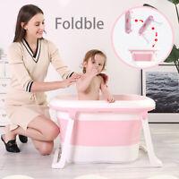 Baby Tub Children Folding Baby Infant Newborn Supplies Portable Bathtub 79x50CM