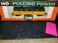 LIFE-LIKE HO SCALE UNION PACIFIC CONTAINERIZED GONDOLA, NEW OLD STOCK, sp184