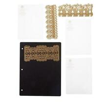 Anna Griffin Empress 3D Lace Embossing Folders and Dies