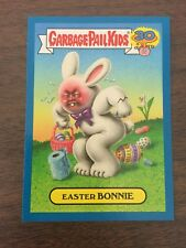 Garbage Pail Kids 2015 30th Blue Parallel - Easter Bonnie 6a Lost Alternate Art