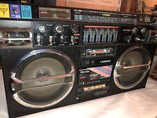 Lasonic TRC-931 Radio Dual Cassette Boombox Read Description 1980's