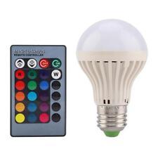 3W E27 LED Bulb 16 Multi-Color Light Speaker RGB Play Lamp Remote Controller