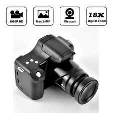 Digital Camera 3 Inch TFT LCD  HD 24MP 1080P 16X Zoom Anti-shake Mic Black US