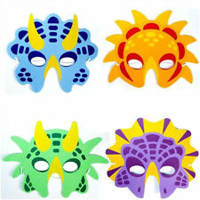 6 Foam Dinosaur Masks - Pinata Toy Loot/Party Bag Fillers Wedding/Kids