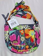 VERA BRADLEY PURSE - LIZZY -  JAZZY BLOOMS - MINI HIPSTER - NEW WITH TAG