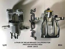 A PAIR of Proton SATRIA NEO 1.3 / 1.6 REAR BRAKE CALIPERS *NEW* 2006-2013