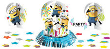 Minions Despicable Me Party Supplies TABLE DECORATING KIT With Confetti