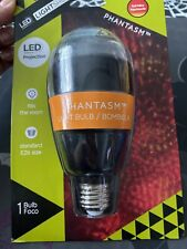 1 Phantasm Light Bulb - Led - New - Red/yellow - Indoor/Outdoor