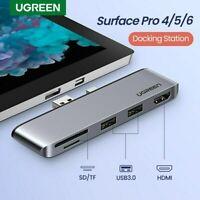Ugreen USB 3.0 HUB HDMI SD/TF Docking Station Splitter For Surface Pro 4 / 5 / 6
