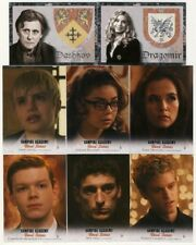 2014 Leaf Vampire Academy Blood Sisters 118-Card Base Set with Crest Inserts