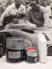 Peinture carrosserie: 1L Apprêt garnissant BESACAR+ durc + diluant = 1,5L (2 kg)