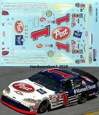 NASCAR DECAL # 1 MAXWELL HOUSE - POST CEREAL 2004 MONTE CARLO JOHN ANDRETTI