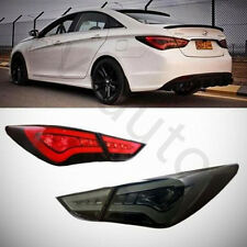 For Hyundai Sonata 2011-2014 LED Kit Tail Lights Rear Taillights Black Assembly