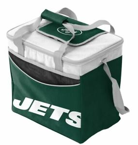 New York Jets 36 Pack Insulated Can Cooler Bag