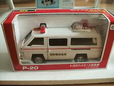 Yonezawa Diapet Toyota Hi-Ace Ambulance in White on 1:35 in Box