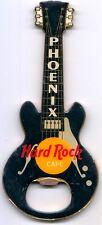 "Hard Rock Cafe PHOENIX ""BLACK GRETSCH"" Guitar Bottle Opener Magnet -VERY RARE"