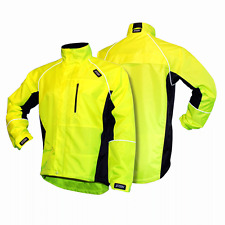 Evolution II - All Weather Jacket Yellow & Black-XL