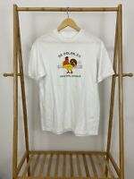 VTG 90s Hanes 50/50 De Colores Emmanuel Emmaus Rooster White T-Shirt Size L USA