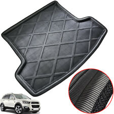 Boot Cargo Liner Tray Trunk Floor Mat For Chevy Captiva 7-Seat 2006-2017 Black