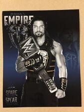 Roman Reigns WWE Champ 8x10 Photo Pic Wrestlemania Ambrose Rollins Shield NXT