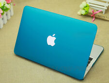 Blue Rubberized Frosted Matte case keyboard cover for Macbook Pro w/Retina 13''