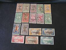 *MARTINIQUE, SCOTT # 62-79(18)+87-89(3)+85/86(2)+89-91(3), TOTAL 30 1908-30 USED