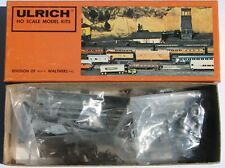 Ulrich Kenworth 3 Axle Tractor with Tie Stain Oil Tanker Trailer Kit---HO SCALE