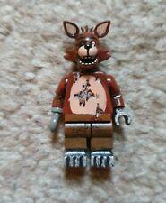 Custom Lego - Foxy Minifigure - Five Night's At Freddys