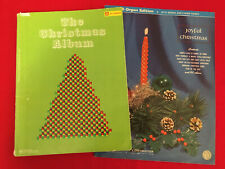 All Organ  JOYFUL CHRISTMAS plus THE CHRISTMAS ALBUM  (with words & chord names)