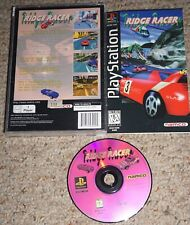 Ridge Racer (Sony Playstation 1 ps1) Complete Long Box