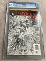 All-Star Batman & Robin the Boy Wonder #1 Sketch Cover CGC 8.5 RARE! Jim Lee Art