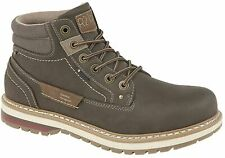 Botas de Moda de Hombre 6 Ojos con Cordones Tiempo libre Sport Casual Trek y Trail Caminar Zapatos