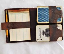 GIOCO di Carte da Gioco Vintage Set Vecchia scorepad 2 Waddingtons Pack PONTI 1920 S 1930 S