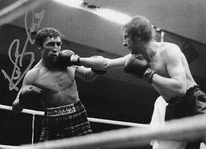 Ken Buchanan, Scottish boxing great, signed 6.5x4.75 inch photo. COA. Proof.