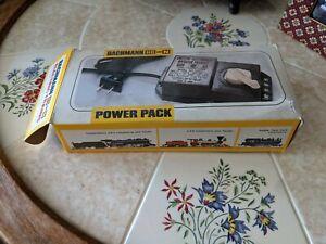 Bachmann HO and N Transformer Power Pack #44207 VTG Train Electric