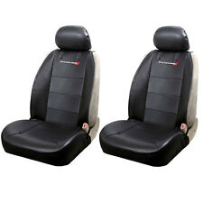 New Dodge Elite Synthetic Leather Sideless Car Truck 2 Front Seat Covers Set