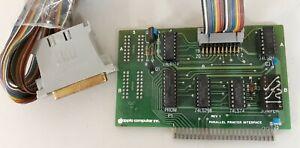 1979 Parallel Printer Interface Card Rev 1 by Apple Computer II Plus IIe IIgs