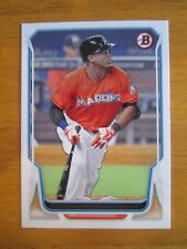 Rare! 2014 BOWMAN - ERROR - NO NAME - NO FOIL Giancarlo Stanton Marlins Yankees