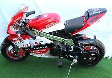 KXD Mini Moto Pocket Bike 50cc Limited Edition Red/White/Black