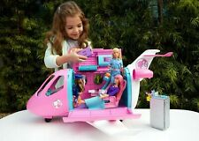 Dream Barbie Plane Playset Accessories Dreamhouse Adventures Pink Airplane