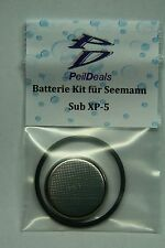 Batterie - Kit- Set  für Tauchcomputer Seemann Sub XP5 incl. O-Ring