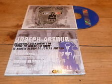 Joseph Arthur ‎– Ski Or Snowboard  !!BONUS CD !!!RARE FRENCH PROMO CD !!!!!