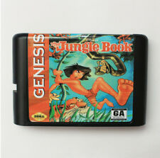 The Jungle Book 16 Bit Game Card For Sega Mega Drive & Sega Genesis