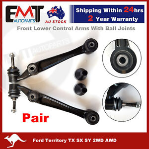 Front Lower Control Arms Ball Joints For Ford Territory TX SX SY 2WD AWD LH & RH